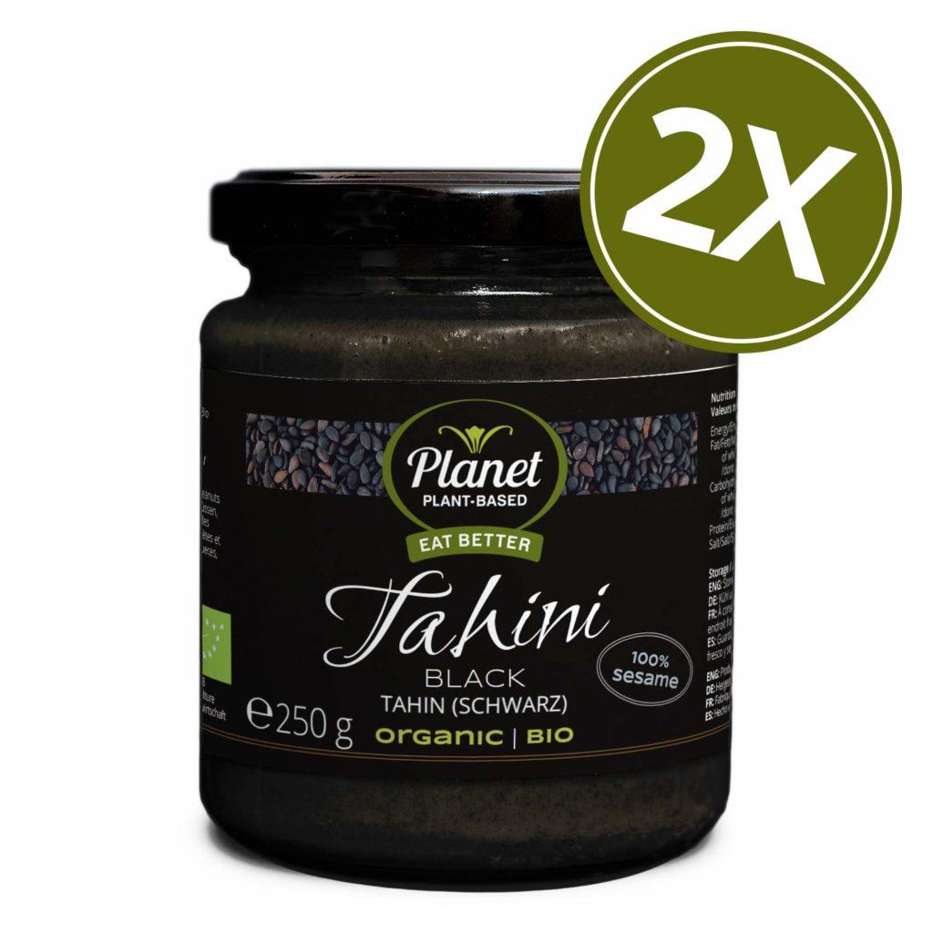Planet Plant-Based Tahin schwarz